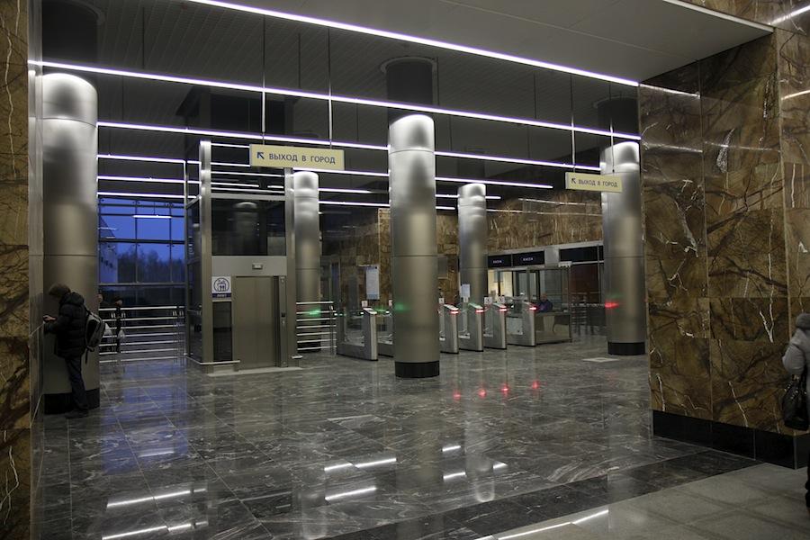 Line 6. Station 'Novoyasenevskaya' ©Yu.Gridchin, 2014