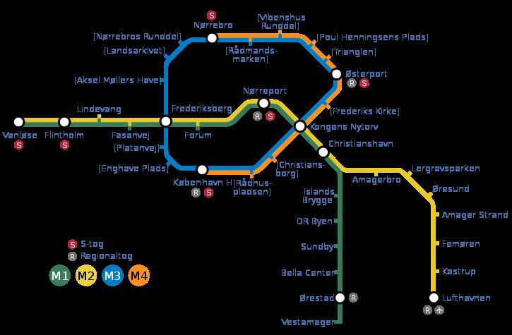 Схема развития метро
